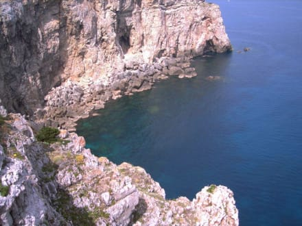 Steilküste bei Cala Morell - Steilküste bei Cala Morell