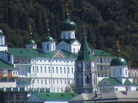 Berg Athos - Kloster Moni Agiou Panteleimonos