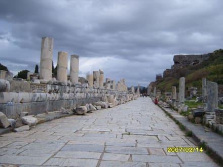 Die Marmorstrasse! - Antikes Ephesus