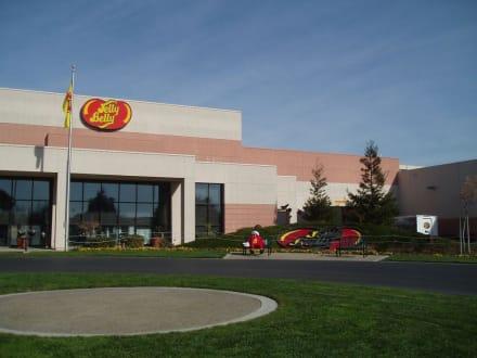 Das Jelly Belly- Schlaraffenland von außen - Jelly Belly Factory