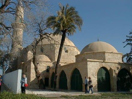 Hala Sultan Tekesi - Moschee am Salzsee - Hala Sultan Tekke Moschee