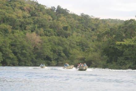 Nach dem Umstieg aufs Motorboot - Jeep Safari Varadero