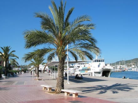 Ibiza - Hafen Ibiza Stadt