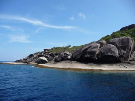Felsengruppe - Similan Islands