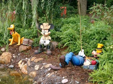 Micky, Goofy und Pluto - Animal Kingdom