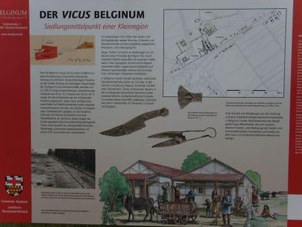 Schautafel Siedlung - Belginum