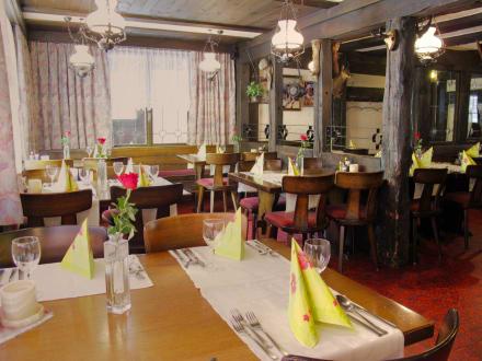Rustikales Restaurant - Hotel Mattmarkblick