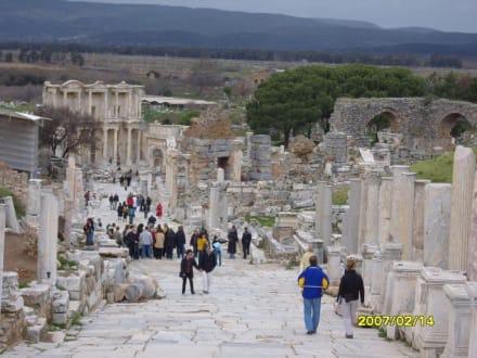 Teile vom Memius Denkmal! - Antikes Ephesus