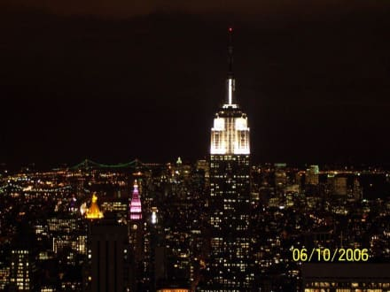 Empire bei Nacht - Empire State Building