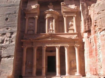 Petra - Khaze Faraun - Schatzhaus des Pharao / Khazne al-Firaun