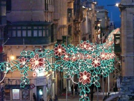 Weihnachten 2008 in Valletta - Altstadt Valletta