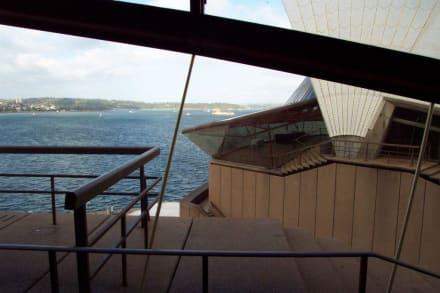 Blick aus der Oper auf den Hafen - Opera House