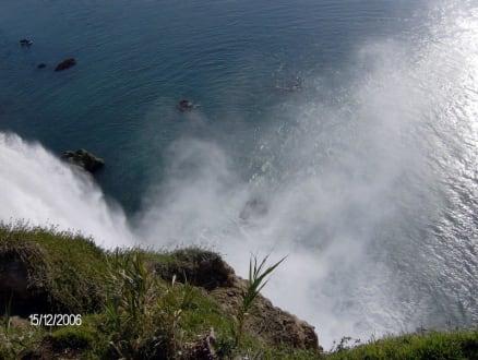 Wasserfall03 - Unterer Düden Wasserfall / Karpuzkaldiran Şelalesi