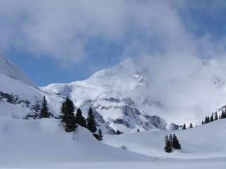 Genug Schnee - Skigebiet Warth Schröcken
