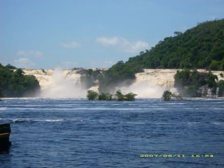 Canaima-Wasserfälle - Wasserfälle von Canaima - Salto Sapo