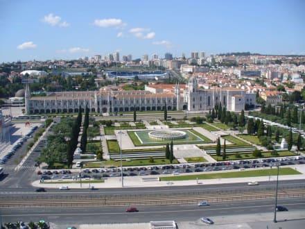 Blick vom Denkmal - Padrao dos Descobrimentos / Denkmal der Entdecker