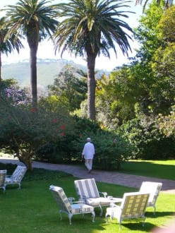 Gartenanlage - Mount Nelson Hotel