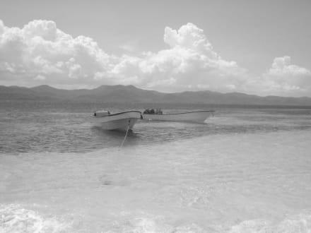 Boote am der Paradiesinsel - Paradies Insel