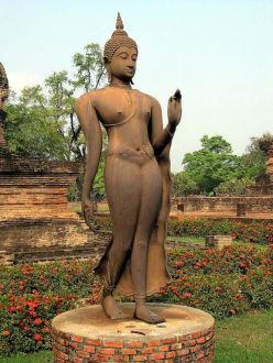 Die eiserne Lady in ganzer Pracht - Sukhothai Historical Park