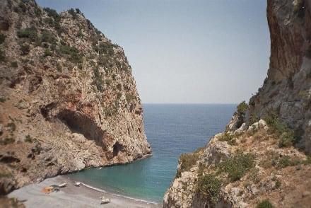 Strand von Vithouri im Nordosten Evias - Vithouri