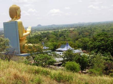 Goldener Tempel Dambulla - Höhlentempel Dambulla