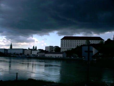 Blick auf Linz mit Schloss - Schloss