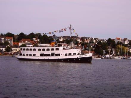 """Dampfschiff  """"Stadt Kiel"""" - Hafen Flensburg"""