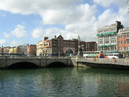 O\'Connell bridge - Altstadt Dublin