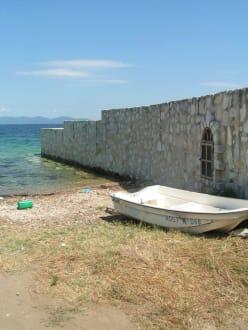 An der Grenze - Strand Athos