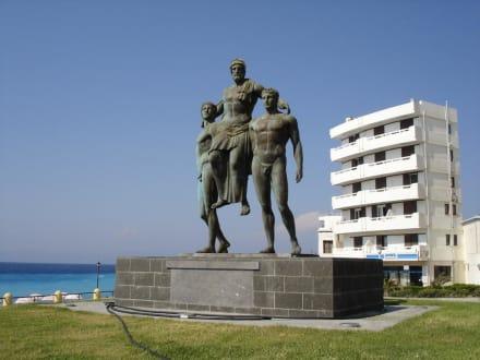 Denkmal - Diagoras-Denkmal