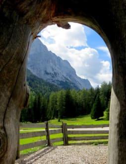Blick ins Gaistal - Wandern Leutasch