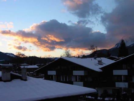 Abendstimmung in St. Johann in Tirol - Skigebiet St. Johann