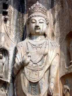 Buddha - Longmen-Grotten