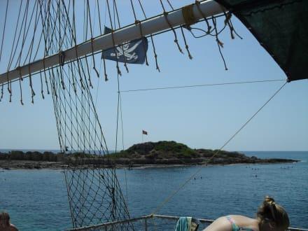 Delphin-Insel - Efe's Ausflüge