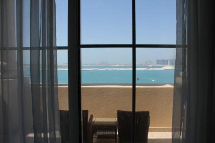 Ausblick vom Zimmer - Hotel The Westin Dubai Mina Seyahi Beach Resort & Marina
