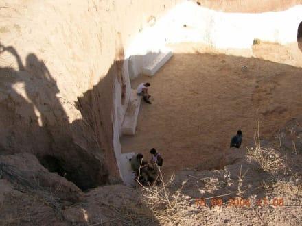 Höhlenwohnung bei Matmata - Höhlenwohnungen