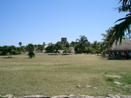 In Tulum - Ruinen von Tulum