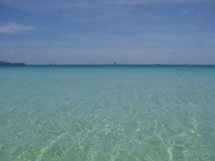 Boracay Wasserqualität - Strand White Beach