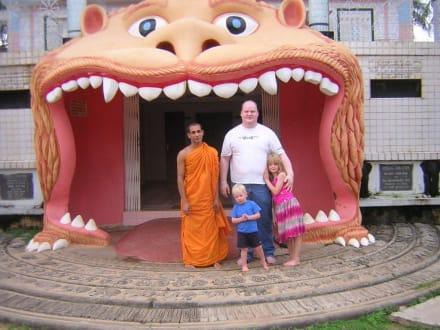 Mein Wunsch wurde wahr - Angurukaramulla Tempel