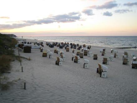 Sonnenuntergang... - Strand Heringsdorf