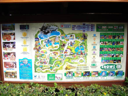 Die Wegbeschreibung vom Park - Loro Parque