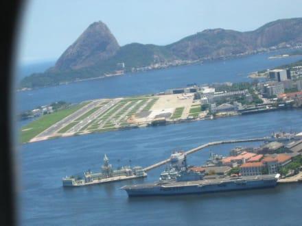 Der kleine Flughafen in der Stadt - Flughafen Rio de Janeiro Santos Dumont (SDU)