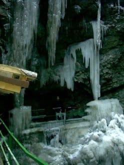 Eiszapfen - Breitachklamm