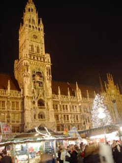 Marienplatz - Rathaus
