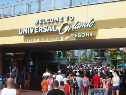 Eingangsbereich - Universal Studios Florida
