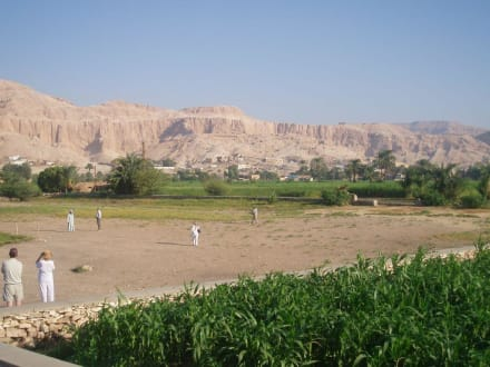 Vorplatz - Kolosse von Memnon
