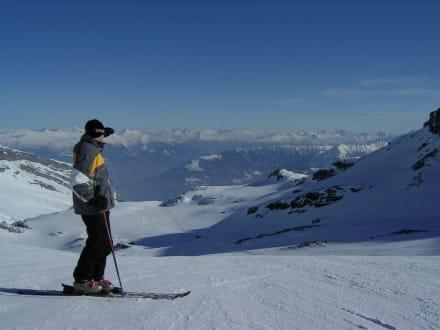 Einsame Pisten - Skigebiet Flims, Laax, Falera