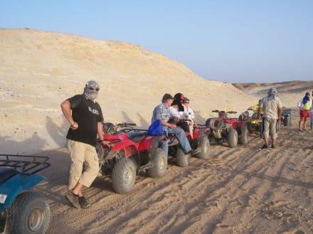 Quad-Tour - Wüstentour Marsa Alam