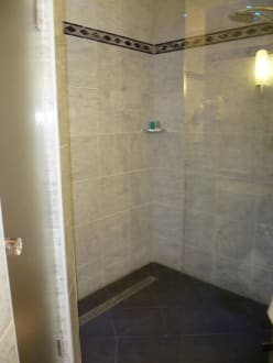 gro e barrierefreie dusche im bad bild hotel. Black Bedroom Furniture Sets. Home Design Ideas