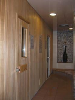 Espace sauna et hammam - Hotel Verte Vallee